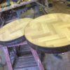 Industrial bar restaurant furniture matching tables 2