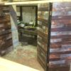 Industrial furniture reclaimed wall covering 2