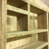 Industrial furniture bookcase