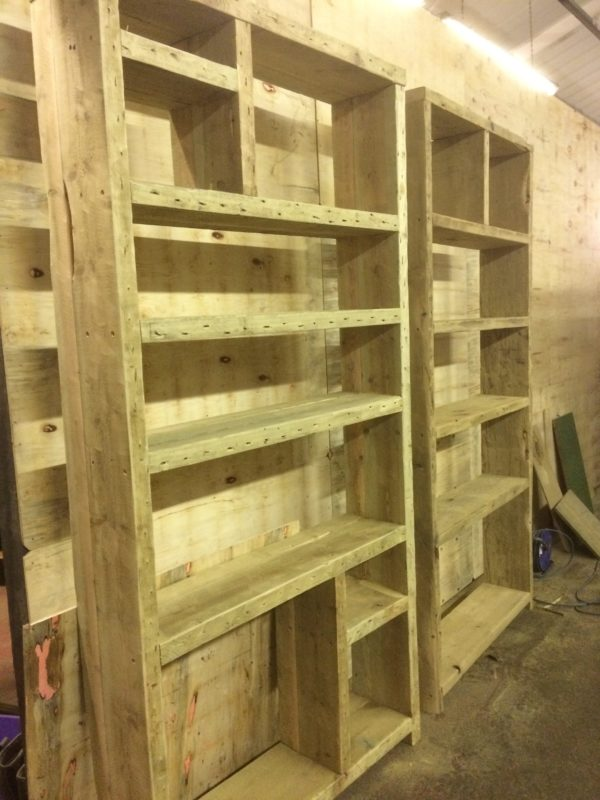 Industrial furniture bookcase 2