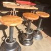 Industrial bar stool 2