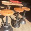 Industrial bar stool 2